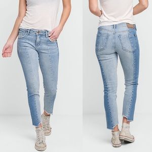 NWT Silver Jeans Izzy Slim Crop High Rise